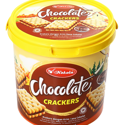 Soft Crackers Sandwich Chocolate 400g