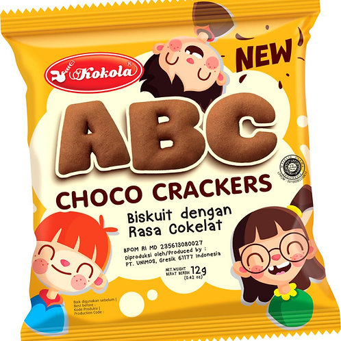 ABC Choco Crackers 12g