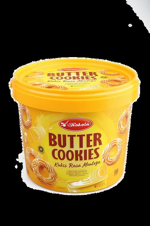 Delicious Cookies Bucket Butter 400g