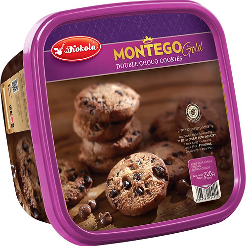 Montego Gold Double Chocolate 225g