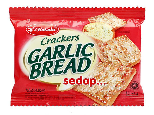 Garlic Bread Crackers 24g