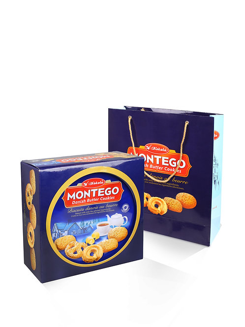 Montego Danish Butter Cookies 454g