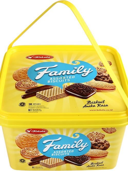 Family Assorted Biscuits 400g