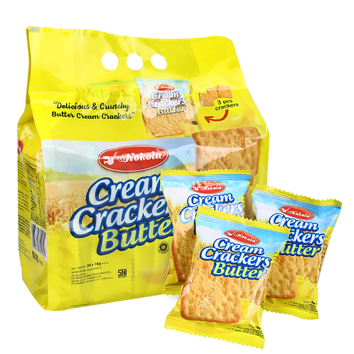 Cream Crackers Butter 18g