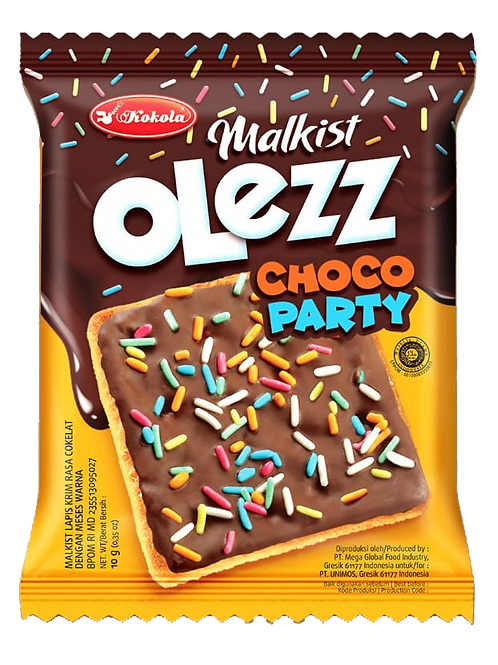 Olezz Party Series Choco Party 10g