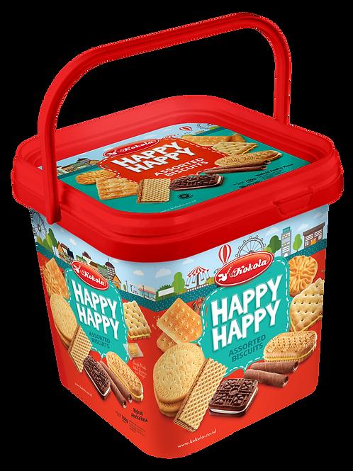Happy Happy Assorted Biscuits 700g