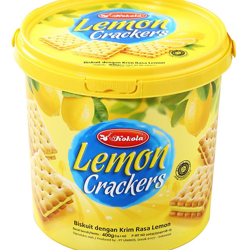 Soft Crackers Sandwich Lemon 400g