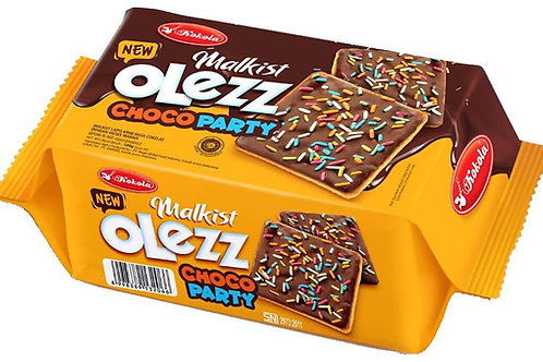 Olezz Crackers Choco Party 100g