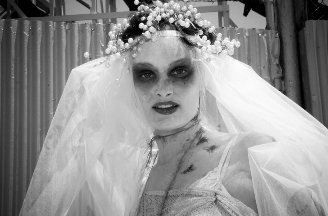 Dead Bride Coney Island Brooklyn