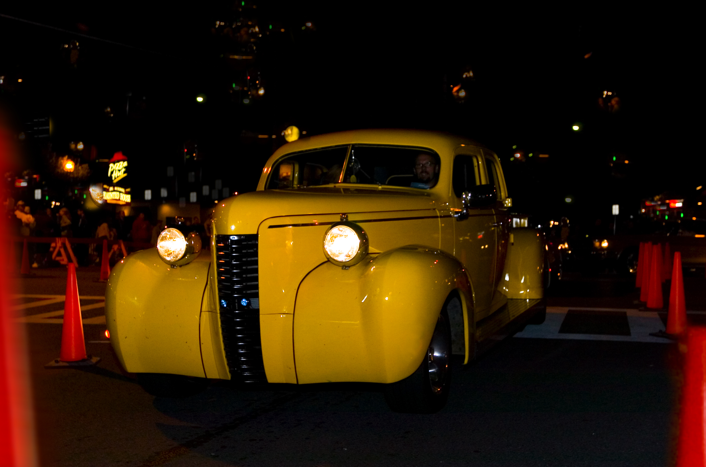 Yellow Car Lake George, New York