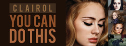 Adele Banner Clairol, You Can Do This