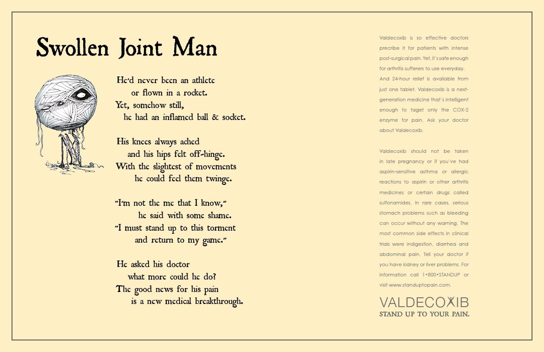 Valdecoxib Swollen Joint Man