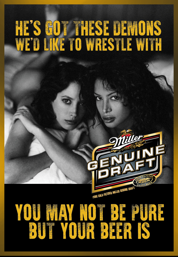 Miller Genuine Draft Let's Wrestle