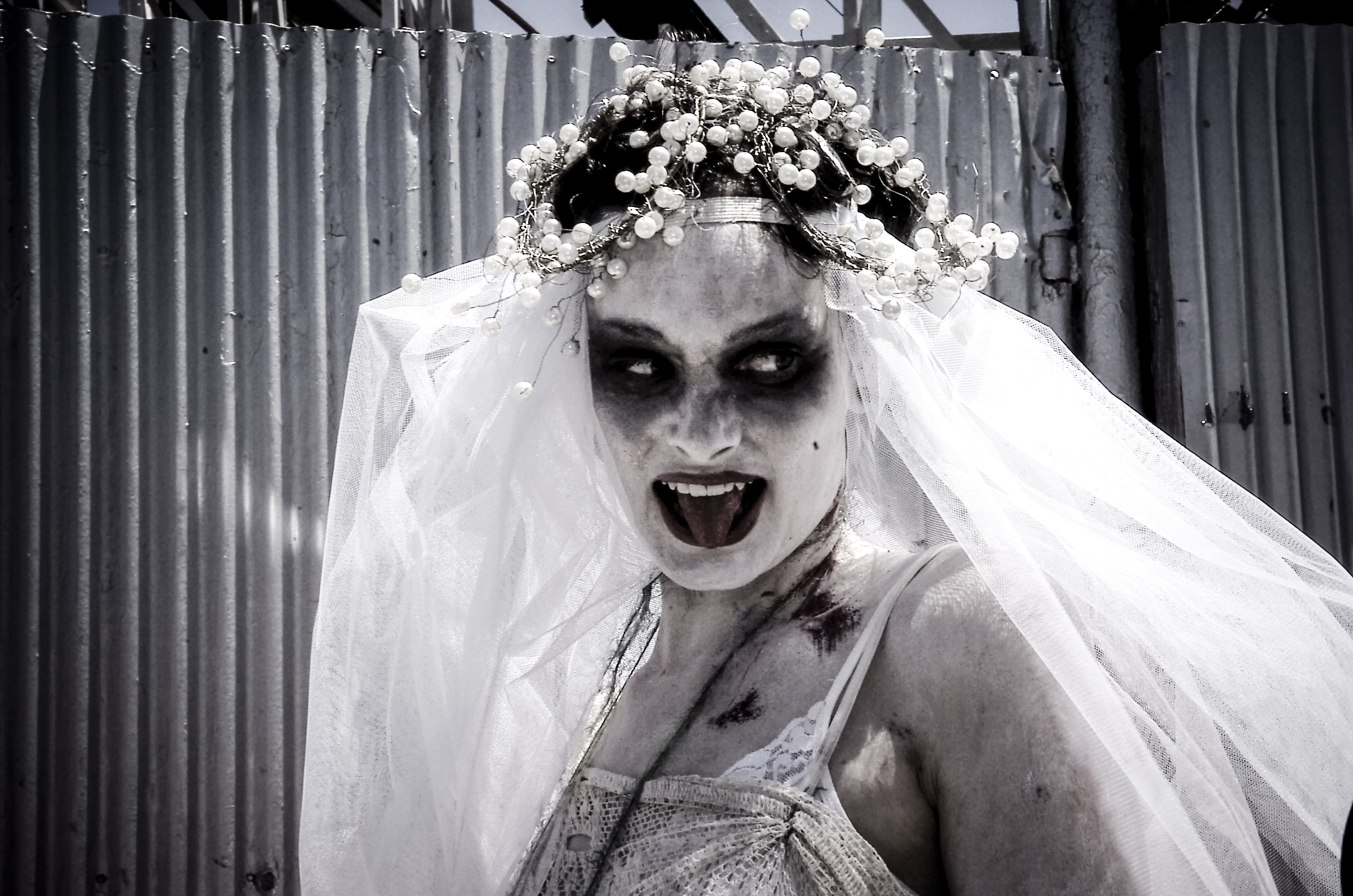 Dead Bride Coney Island Mermaid Parade, New York