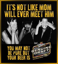 Miller Genuine Draft Mom