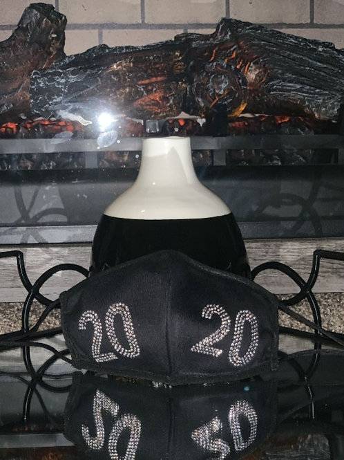 2020 BLING Cotton Face Mask REUSABLE