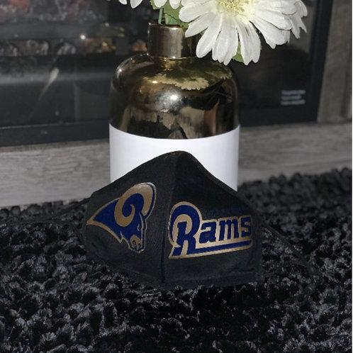 LOS ANGELES RAMS Cotton Face Mask REUSABLE