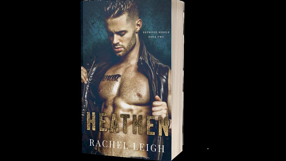 Heathen Signed Paperback