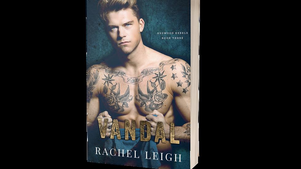 Vandal Signed Paperback