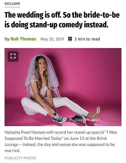 NPH press Comedy Special Wedding Madison
