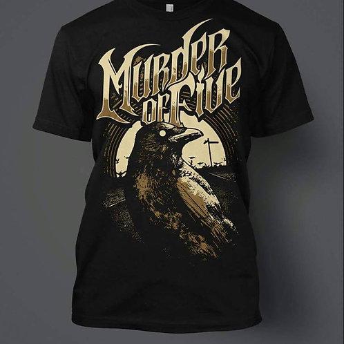 Official Murder of Five Band Shirt