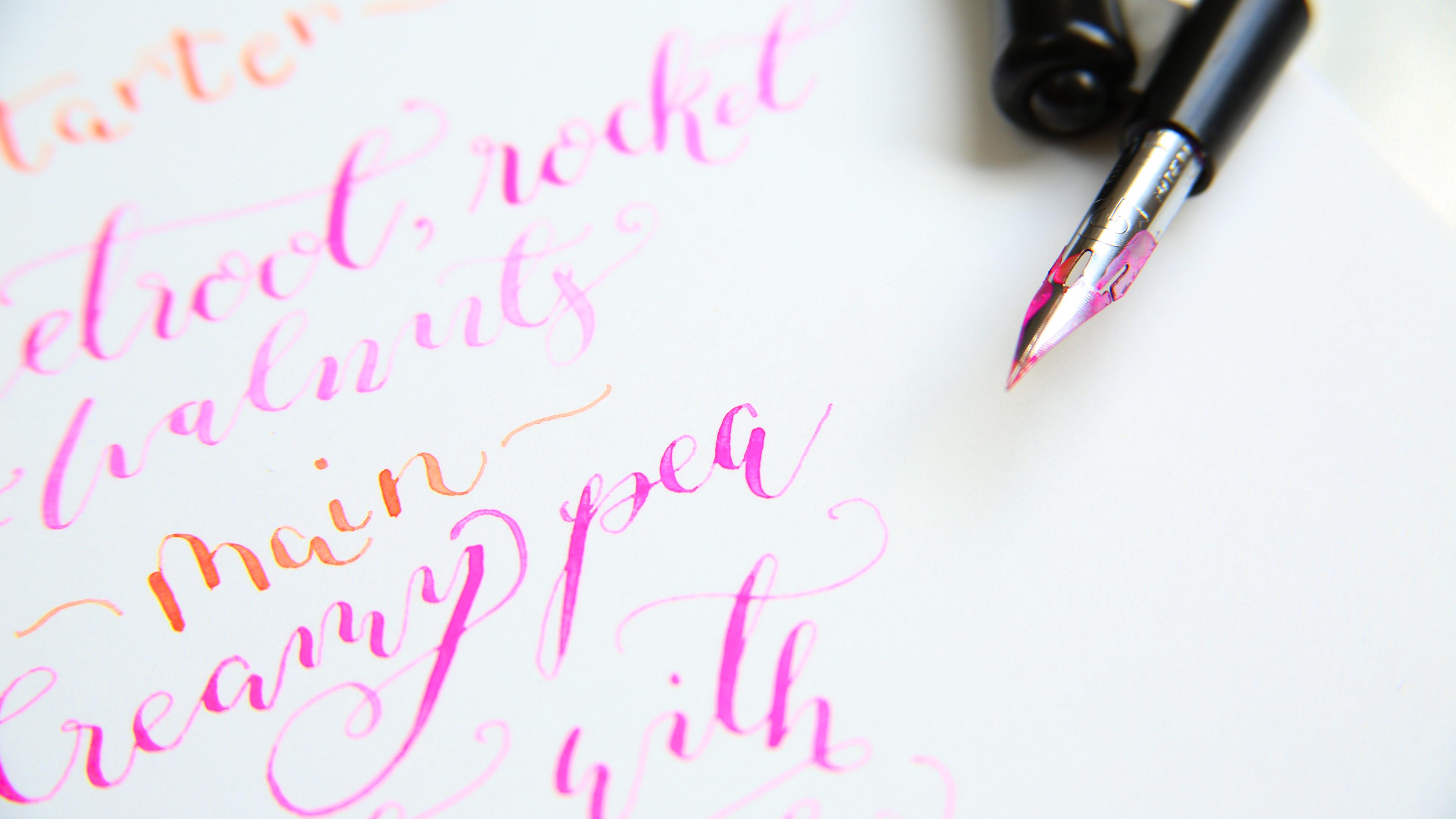modern calligraphy london