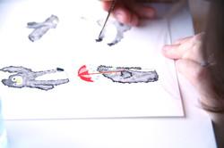 Character Development - Watercolours