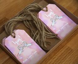 Unicorn Calligraphy Gift Tags