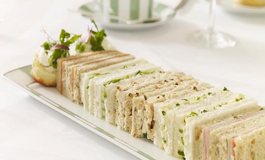 The Rambling Inns gourmet cut high tea sandwiches