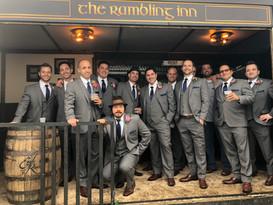 Groomsmen on the Rambling Inn