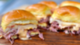 Th Rambling Corned Beef Sliders