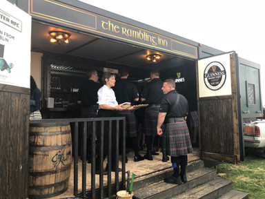 Bagpipers and Pints at the Rambling Inn