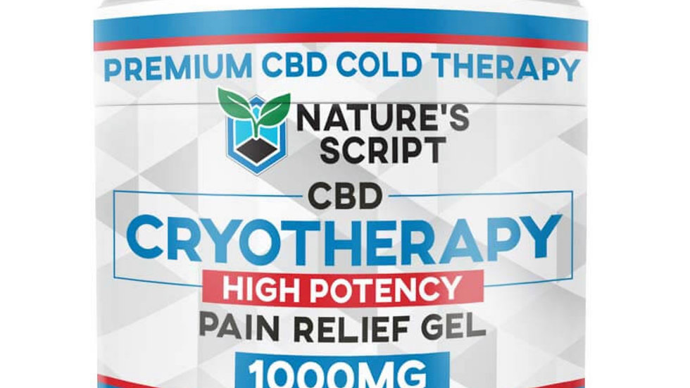 Cryotherapy 4 ounce 1000mg