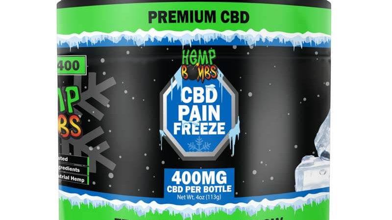 4oz Pain Freeze 400mg