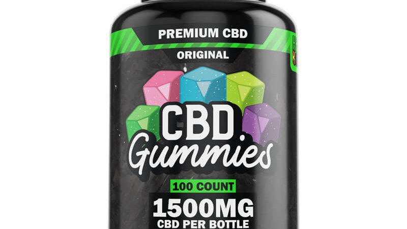 100ct Regular Gummy's 15mg
