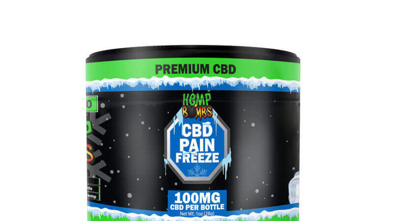 Pain Freeze 1oz 100mg