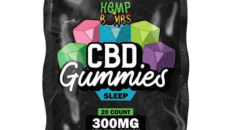 20ct Melatonin Gummy with 15mg CBD