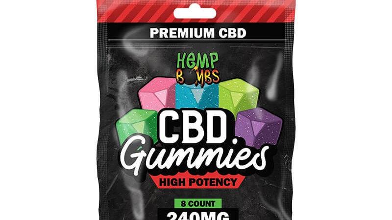 8ct High Power Gummy