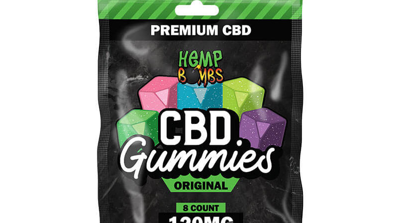 8ct Gummy's 120mg