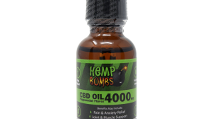 Tincture Oil 30ml 4000mg