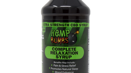 Relaxation Syrup 4oz 300 mg