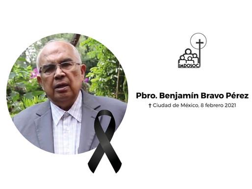 Descanse en paz, P. Benjamín Bravo Pérez