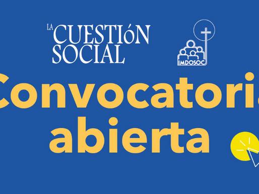 Convocatoria para publicar en la revista La Cuestión Social