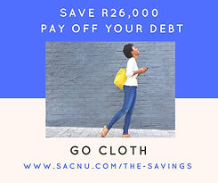 Save R26000 with going cloth south africa