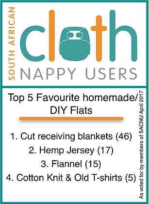 south africa cloth nappy users polls  homemade DIY flats