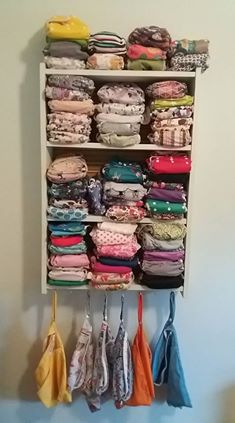 storage for cloth nappies
