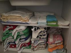 Cloth nappy storage idea 1