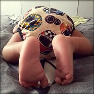 Newborn cloth bum