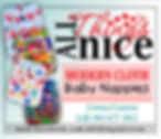 All Things Nice modern cloth nappies