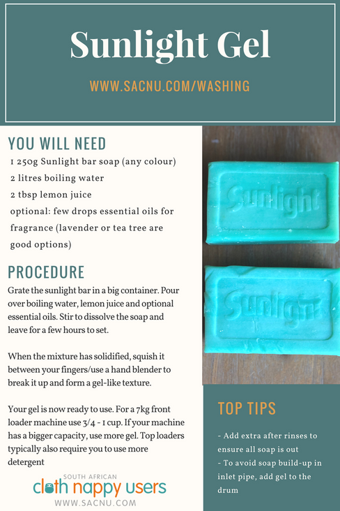 How to make Sunlight gel
